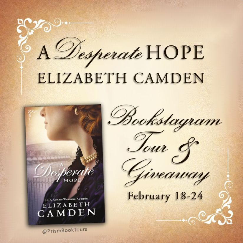 Bookstagram Banner - A Desperate Hope w Handle