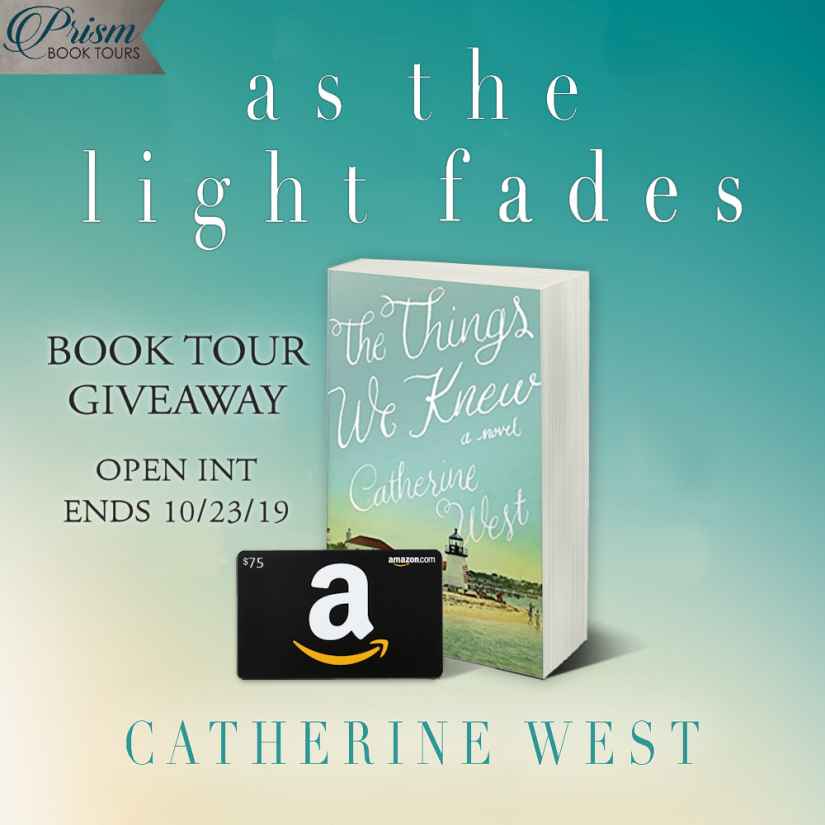 As the Light Fades giveaway